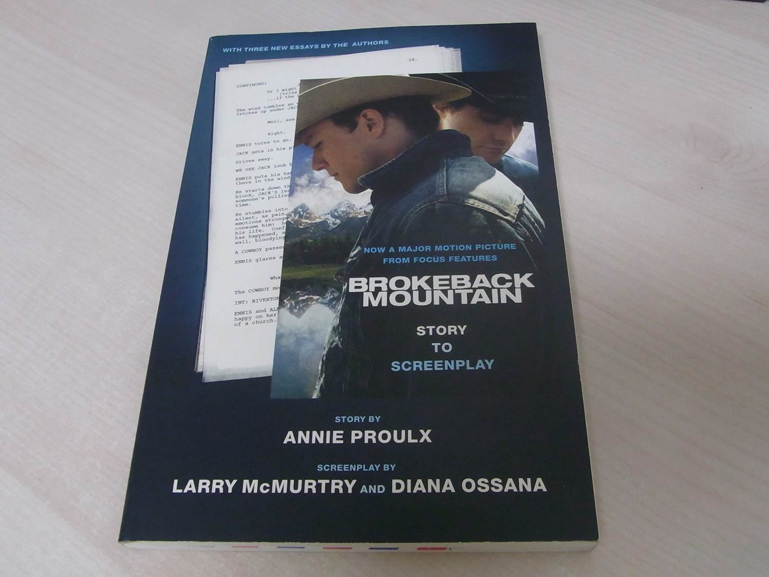 Brokenback Mountain- story to screenplay / Annie Proulx 斷背山