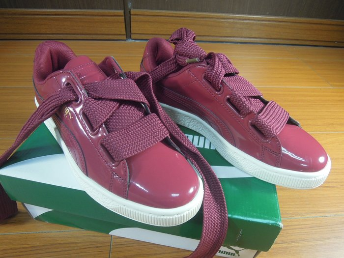 假鞋賠10萬Puma Basket Heart W Tibetan Red 紅 緞帶 363073-05