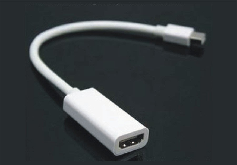 【唯我獨尊】Mini DisplayPort 轉 HDMI 支援音頻輸出 New Surface Pro MacBook