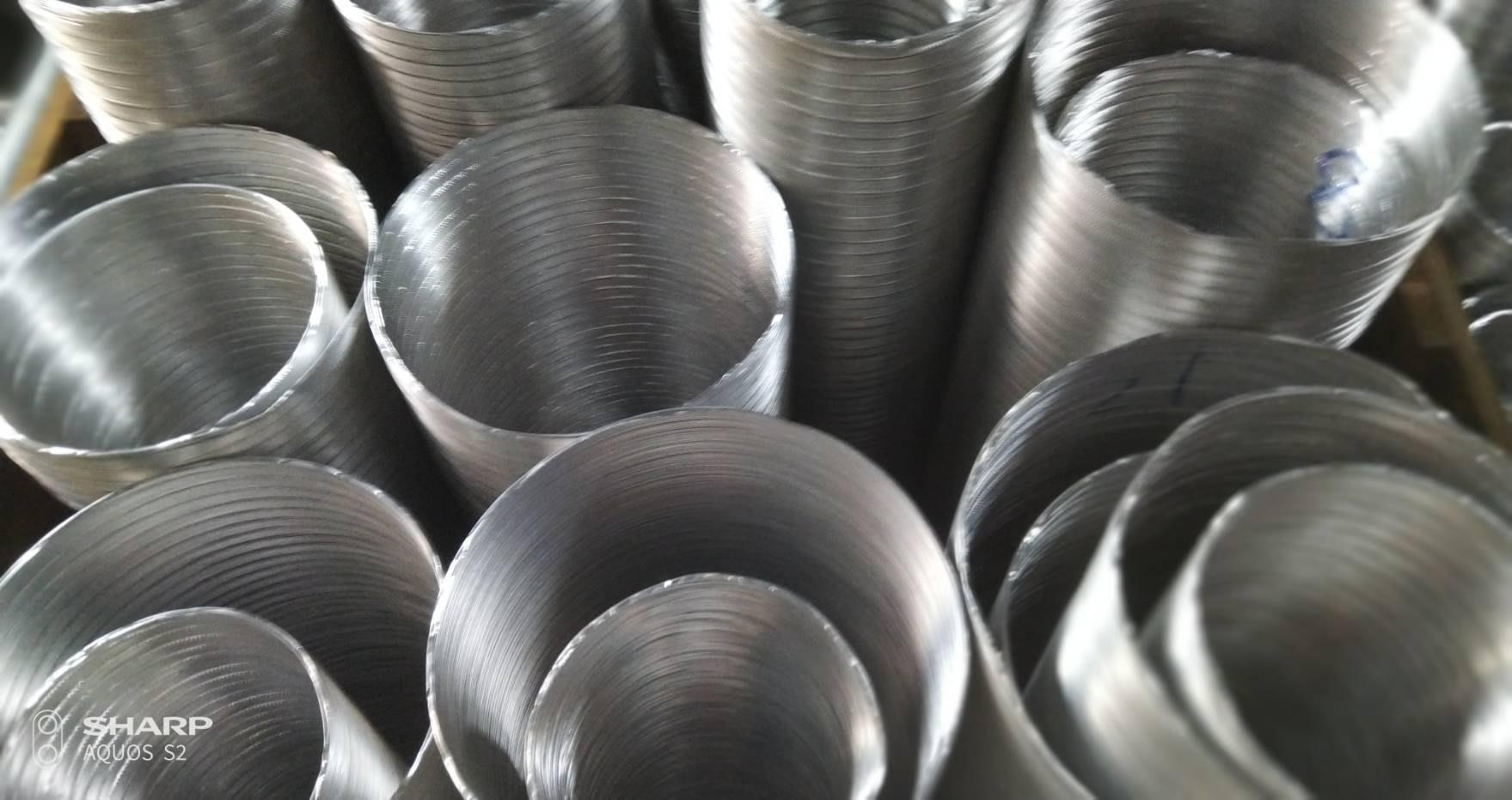 """8""""鋁風管,大型排風管,大型排油煙機管,台灣製造,"""