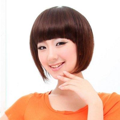 水媚兒假髮9M141♥新款女士假髮 齊瀏海 鮑伯頭 微燙 ♥ 現貨或預購 團購批發