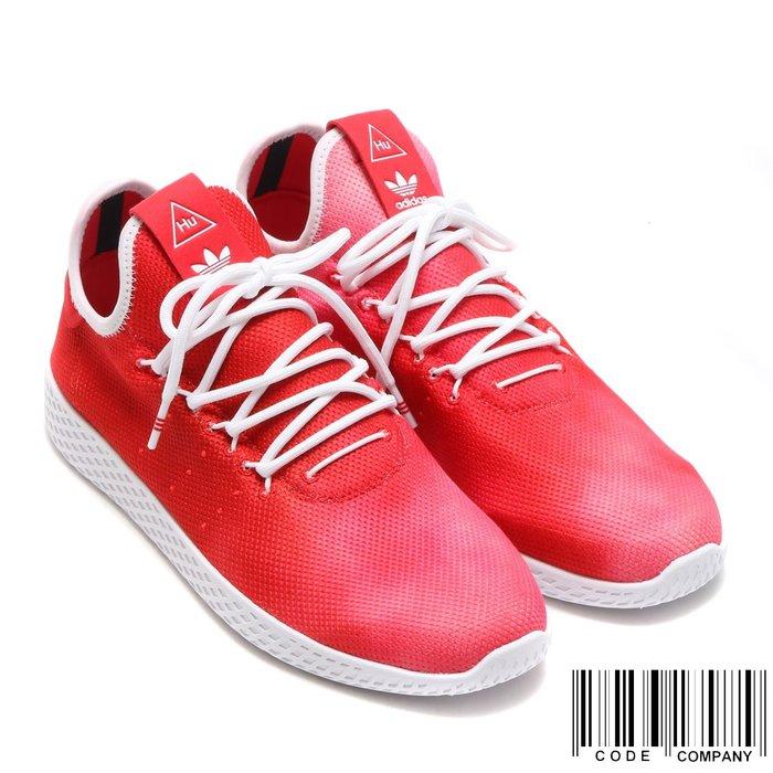=CodE= ADIDAS PW HU HOLI TENNIS HU 渲染網球鞋(紅白)DA9615 菲董 男女 SAL