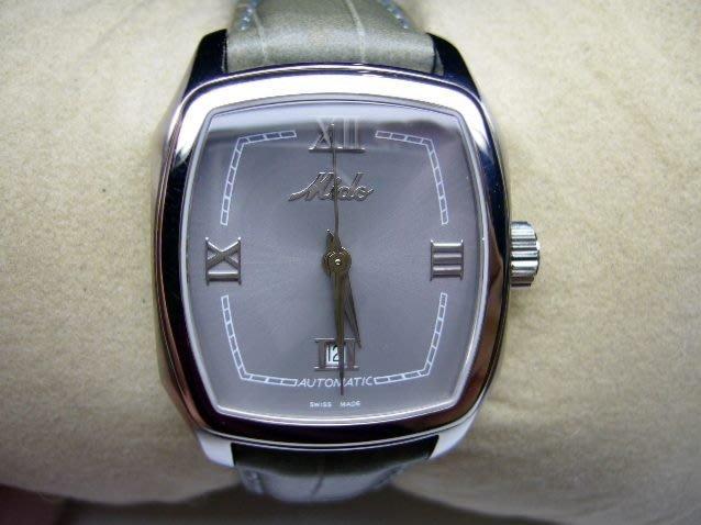 [吉宏精品交流中心]MIDO 美度 不鏽鋼 皮帶 自動機械 女錶