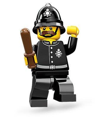 絕版品【LEGO 樂高】玩具 積木/ Minifigures人偶包系列: 11代 71002 單一人偶: 英國巡警 警察