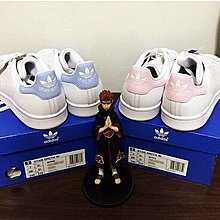 真品 折扣 Adidas stan smith baby blue pink