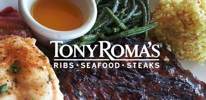 關島之家-關島Tony Romas、Capricciosa餐廳抵用券(3張以上) 原價USD$30 /每張特惠價$775