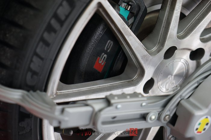 AUDI S3 8V / VW R32 專用日本原裝 PMU project-mu HC+ 競技版來令片 / 制動改