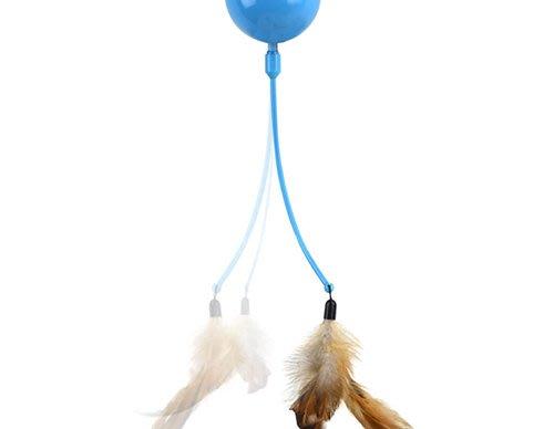 *WANG*PLAY-N-SQUEAK 狂野森林貓草音效玩具系列【OR-PS-13437突襲之家】補充羽毛