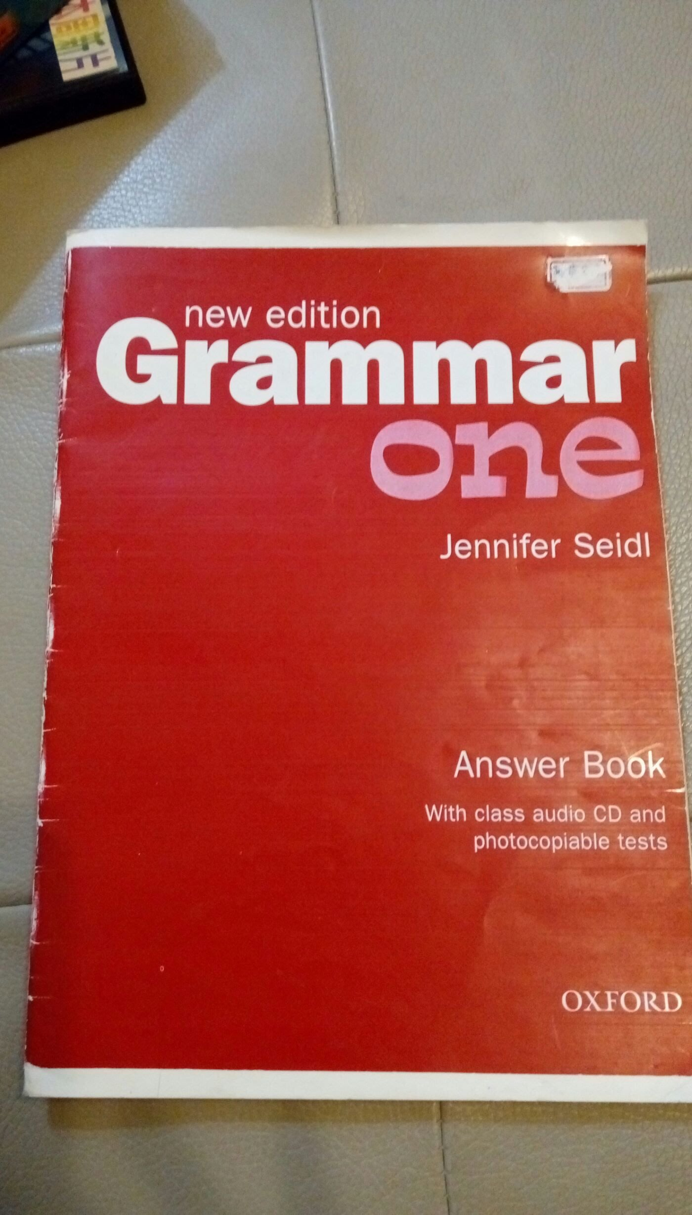 Grammar:  Level 1 Jennifer Seidl (answer)Oxford9780194309462