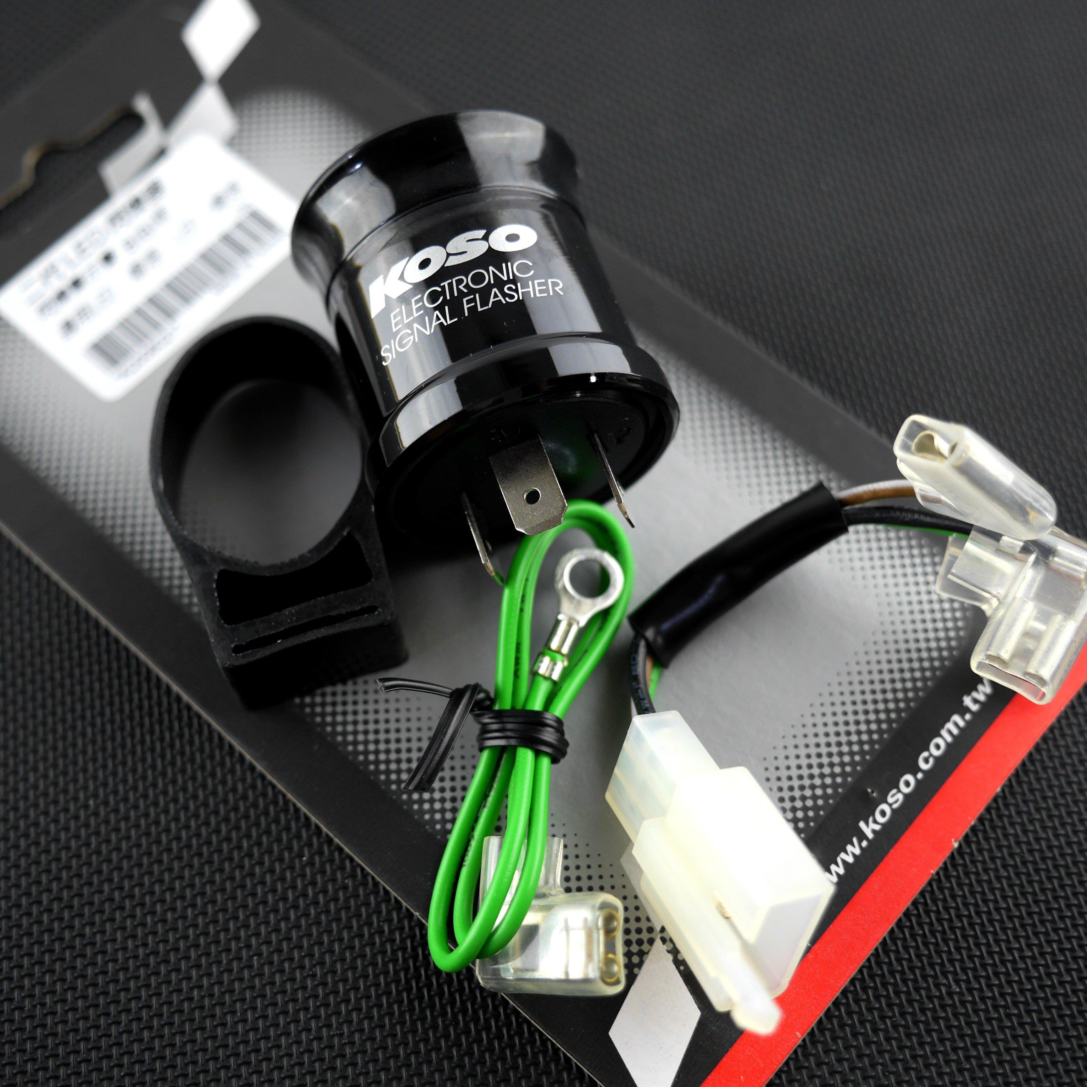 皮斯摩特 KOSO 二代 閃爍器  繼電器 LED 方向燈 繼電器 閃爍器 勁戰 雷霆 FORCE 答答聲/逼逼聲