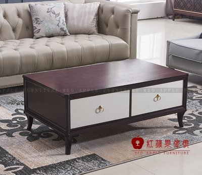 [ 紅蘋果傢俱 ] SLD068  歐式美式系列 茶几 方几  桌子  數千坪展示