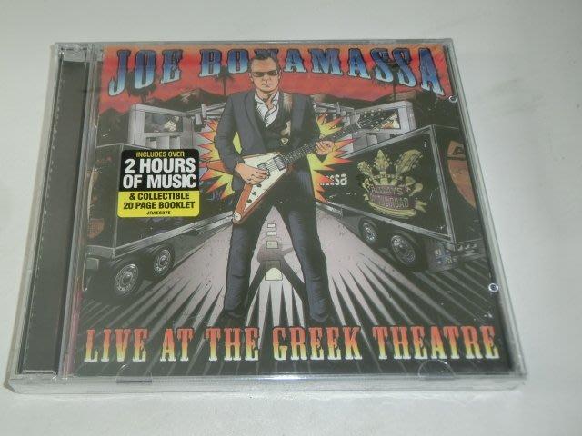 正版2CD《喬波納瑪沙》希臘劇院現場實況/Joe Bonamassa - Live At The Greek Theat