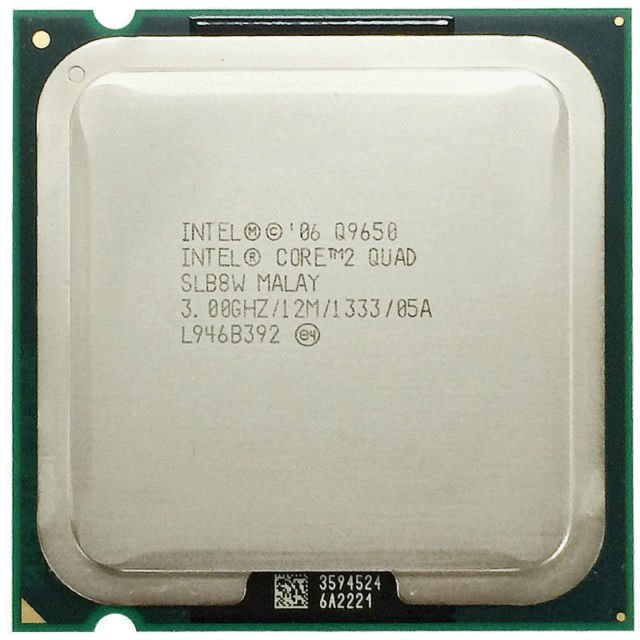 LGA775攻頂Intel Core 2 Quad Q9650 SLB8W正式版 3.0G/12MB/1333Mhz