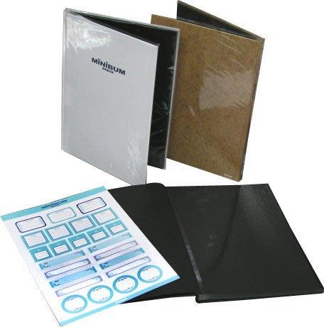 日本NCL 無印良品風黑內頁極簡A4自黏黏貼相本相簿(MB152)
