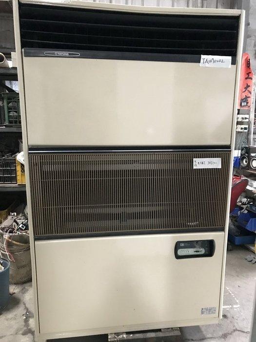 (大台北)中古大同7.5RT水冷箱型機3φ220V(編號:TA1070202),適用辦公室空調、冷卻系統~