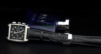 高質感進口皮料,黑色18mm可替代浪琴...
