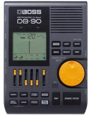 【六絃樂器】全新公司貨 Boss DB-90 專業鼓手節拍器 / 現貨特價