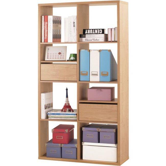 辦公室/客廳【家具先生】八格加厚收納櫃(附抽屜&活動板) 置物櫃 櫃子 玄關櫃 隔間櫃 書櫃 書架 展示櫃 2168NA