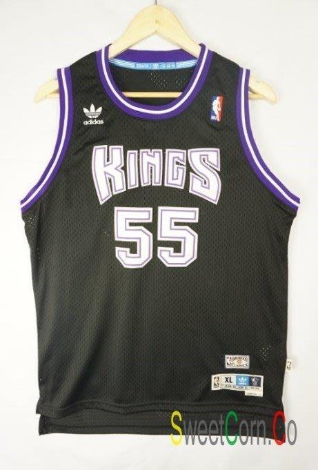 玉米潮流本舖 ADIDAS NBA 國王隊 Jason Williams 55號 復古 客場 青年版球衣 現貨