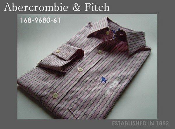 【Abercrombie & Fitch A&F-9680】長袖襯衫/S號*加購領帶可同時享95折*全新正品,美國寄出*
