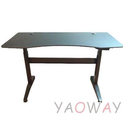 【耀偉】 DR氣壓式升降桌KGT-DR-150-AC (電腦桌/主管桌/辦公桌/書桌)