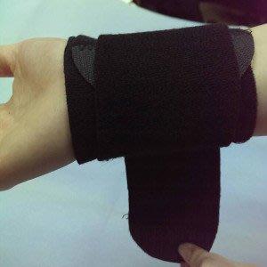 黑色加壓護腕