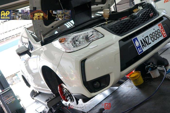 SUBARU FORESTER 專用 AP RACING CP-9040 六活塞卡鉗浮動碟盤組 煞車制動迫力 / 制動改
