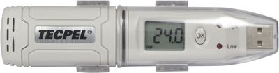 TECPEL 泰菱 》TR-31 溫度記錄器 溫度計  IP67 USB介面 記錄容量 4.3萬組 USB溫度記錄