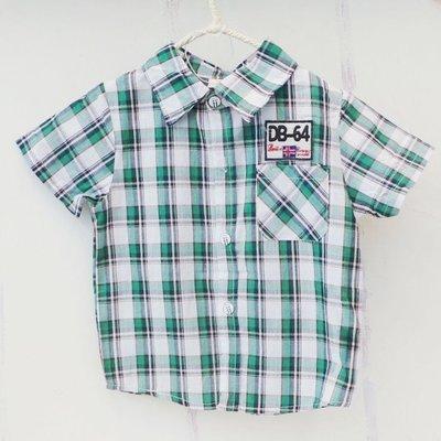 【班比納精品童裝】DB-64格子襯衫-...