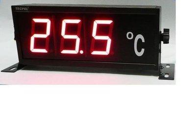TECPEL 泰菱 》LED 大型 溫度看板顯示器 TRH-3306C (K型) 另有 溫濕度計看板