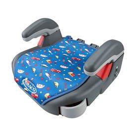 免運費【悅兒園婦幼生活館】GRACO Compact Junior幼兒成長型輔助汽車安全座椅-卡通車