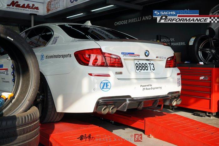 BMW F10 專用德國 SACHS CSS 倒插式懸吊系統 高階避震器系統 20段阻尼高低可調 / 制動改