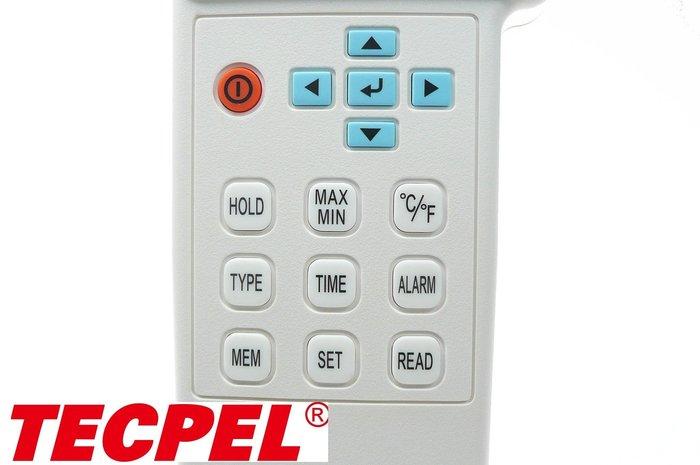 TECPEL 泰菱 》TES 泰仕 刷卡分期 TES-1384 四通道溫度計 溫度 記錄器 多組溫度計