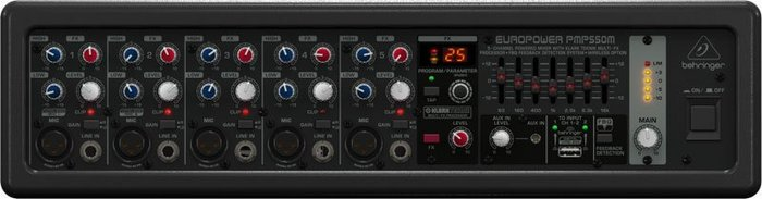 【六絃樂器】全新 Behringer EUROPOWER PMP550M 攜行功率混音器 / 舞台音響設備 專業PA器材