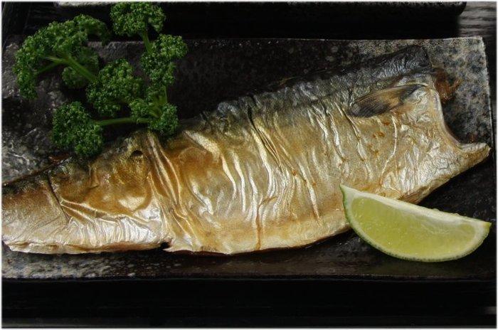 【萬象極品】薄鹽鯖魚(XL)(挪威) / 約240g±10g/片~特大片等級~富含不飽脂肪酸EPA和DHA~