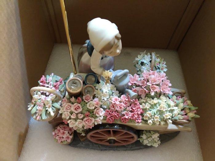 55折(∼2件原價$22萬)LLADRO 繁花時節+愛的花朵 西班牙雅緻瓷偶 Lladró /另 施華洛世奇麥森居禮