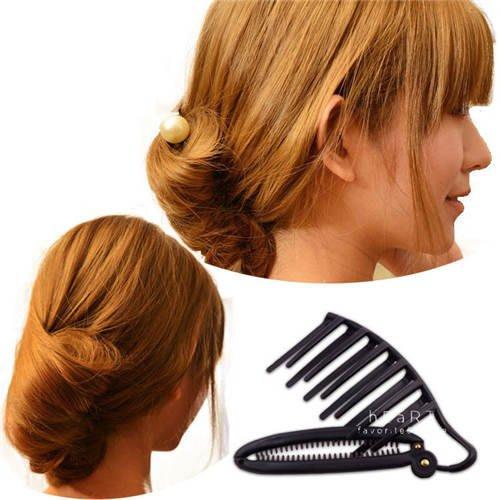 【可愛村】花苞頭丸子頭造型盤髮器 造型用品 頭髮造型用品 美髮用品 包子頭盤髮器