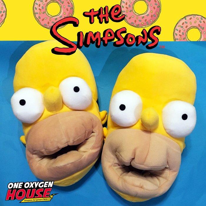 美國 The Simpsons 辛普森 荷馬 拖鞋 室內拖 居家拖鞋 全包鞋 環球影城 辛普森家庭 霸子 FOX立體拖鞋