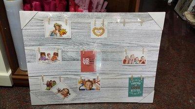 美生活館---全新 鄉村田園 ZAKKA 日雜風格 木板相片掛畫 電錶箱蓋 婚禮佈置 店面 民宿 居家 收藏--5