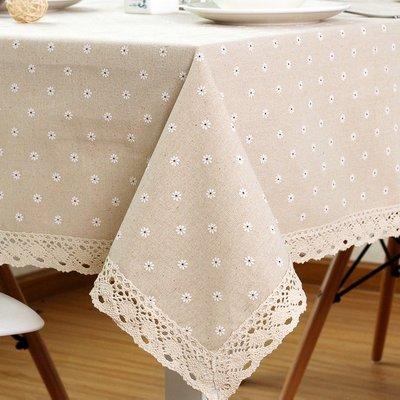 【#004小雛菊】圖案桌布♥方桌巾♥圓...
