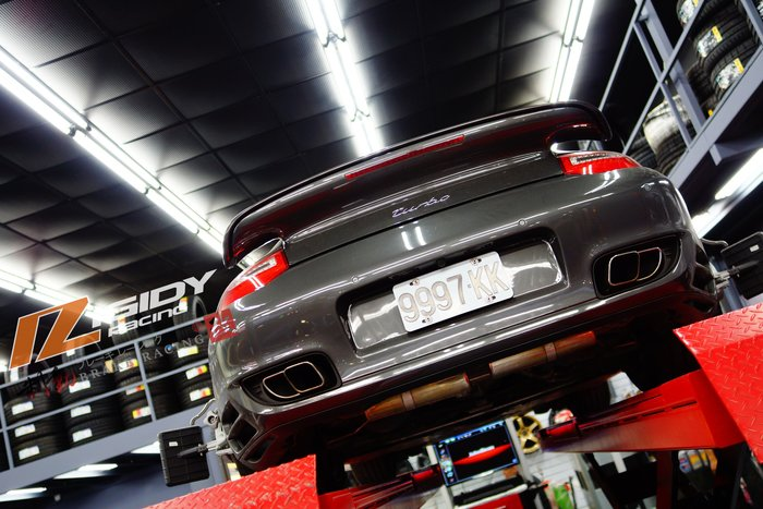 Porsche 997 turbo 對應 RIGIDY RACING 高性能阻尼高低可調整懸吊系統 歡迎詢問 / 制動改