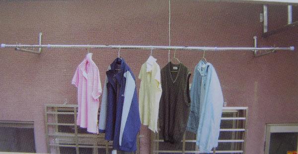 Oo小魏子oO S0190 4米伸縮吊衣架 室內外曬衣架 曬衣桿 晾衣架 晒衣桿