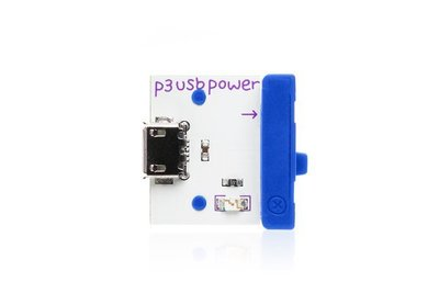美國 littleBits 零件 (power):  USB POWER  (8折出清)