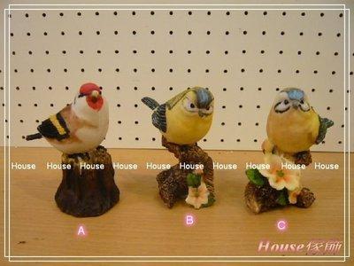 *︵House傢飾2館︵*小鳥擺飾~3款~新款上市