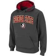 Men's Stadium Athletic Charcoal Florida State Seminoles Arch & Logo Pullover Hoodie