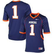 UTEP Miners Nike Game Replica Football Jersey - Navy Blue