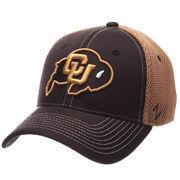 Men's Zephyr Black/Gold Colorado Buffaloes Rally Flex Hat