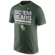 Men's Nike Green Baylor Bears Local Verbiage T-Shirt