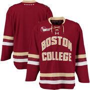 Men's Under Armour Maroon Boston College Eagles Replica Hockey Jersey