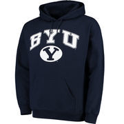 Men's Fanatics Branded Navy BYU Cougars Campus Pullover Hoodie